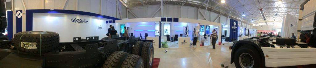 غرفه سازی ارزان نمایشگاه حمل و نقل بین المللی شیراز