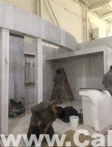 غرفه در حال ساخت